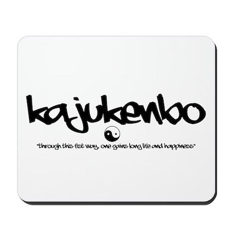 Kajukenbo - Graffiti Mousepad