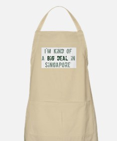 Big deal in Singapore BBQ Apron