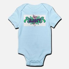 Marcy's Butterfly Name Infant Creeper