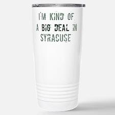 Big deal in Syracuse Travel Mug
