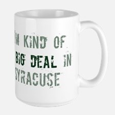 Big deal in Syracuse Large Mug