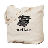 Vintage writer Canvas Bags