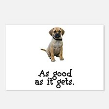 Good Puggle Postcards (Package of 8)