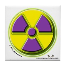 Radioactive - Tile Coaster
