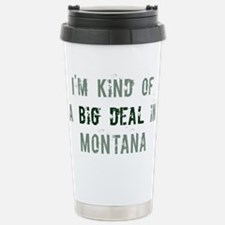 Big deal in Montana Stainless Steel Travel Mug