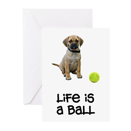 Puggle Life Greeting Cards (Pk of 10)