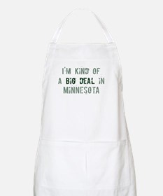 Big deal in Minnesota BBQ Apron