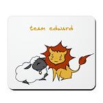 Team Edward (Animals) Mousepad