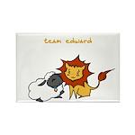 Team Edward (Animals) Rectangle Magnet (10 pack)