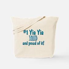 #1 Yia Yia Tote Bag