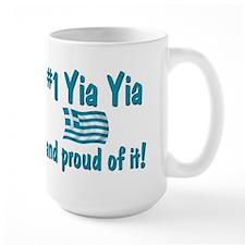 #1 Yia Yia Ceramic Mugs