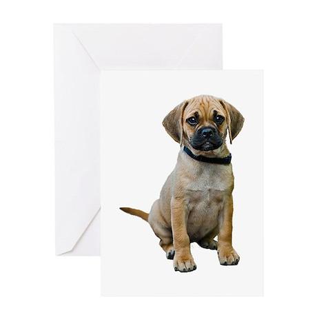 Puggle Greeting Card