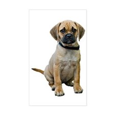 Puggle Rectangle Decal