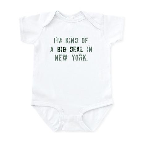 Big deal in New York Infant Bodysuit