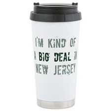 Big deal in New Jersey Travel Mug