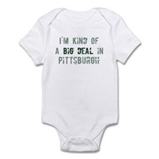 Big deal in Pittsburgh Infant Bodysuit