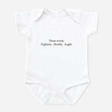 Three Words Infant Bodysuit