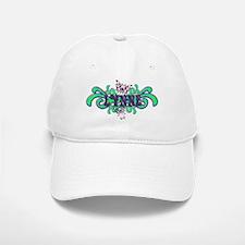 Lynne's Butterfly Name Baseball Baseball Cap