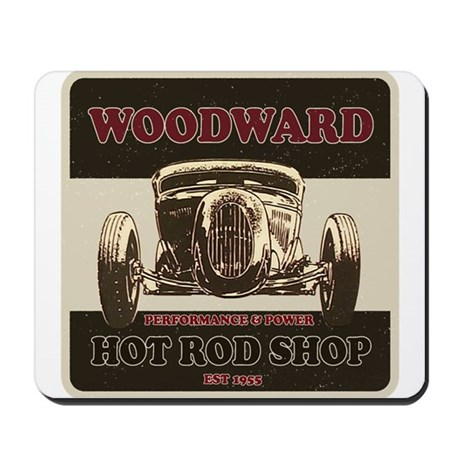 Woodward Hot Rod Shop Mousepad