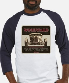 Woodward Hot Rod Shop Baseball Jersey
