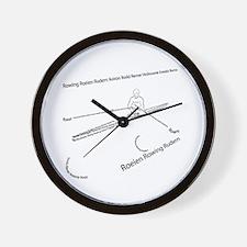 International Rowing Wall Clock