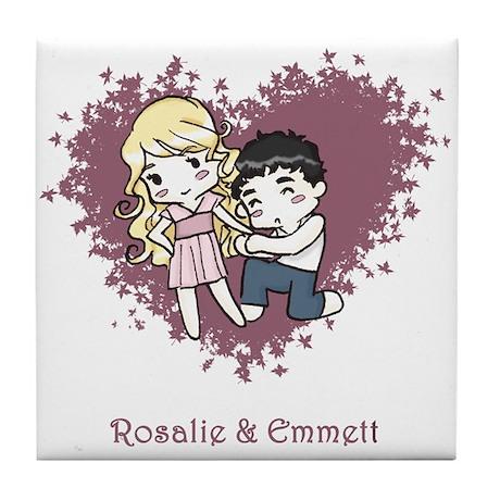Rosalie & Emmett Tile Coaster