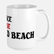 Peace Love Deerfield Beach Mug