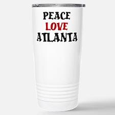 Peace Love Atlanta Travel Mug