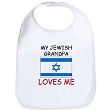 My Jewish Grandpa Loves Me Bib