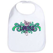Louise's Butterfly Name Bib