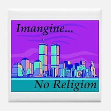 religion Tile Coaster