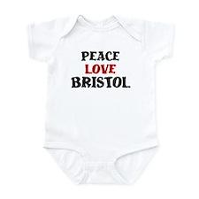 Peace Love Bristol Infant Bodysuit