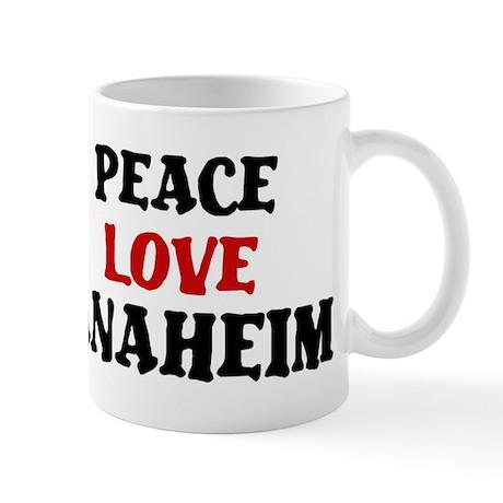 Peace Love Anaheim Mug