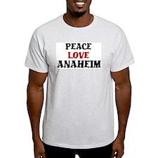Peace Love Anaheim T-Shirt
