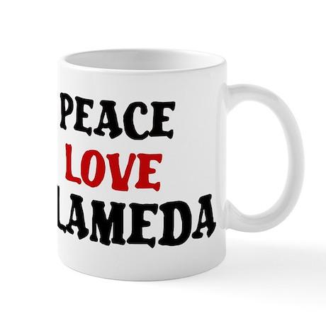 Peace Love Alameda Mug