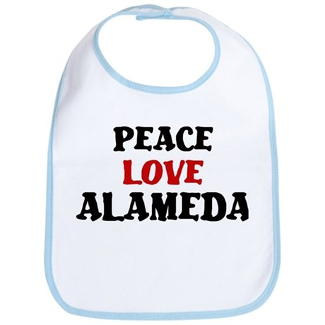 Peace Love Alameda Bib