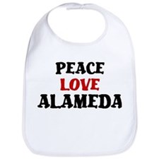 Peace Love Alameda Bib