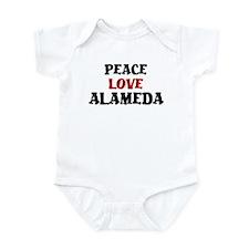 Peace Love Alameda Infant Bodysuit