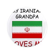 """My Iraqi Grandpa Loves Me 3.5"""" Button"""