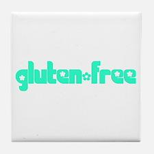 gluten-free (chick) Tile Coaster
