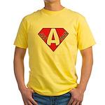 Ass Man Yellow T-Shirt