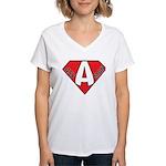 Ass Man Women's V-Neck T-Shirt