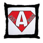 Ass Man Throw Pillow