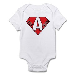 Ass Man Infant Bodysuit