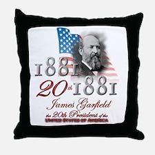 20th President - Throw Pillow
