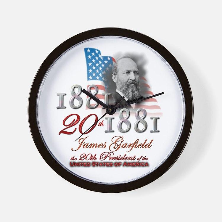 20th President - Wall Clock