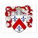 Van Vliet Coat of Arms Small Poster