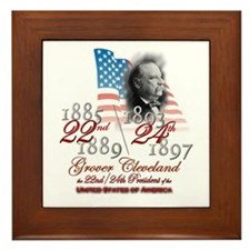 22nd / 24th President - Framed Tile