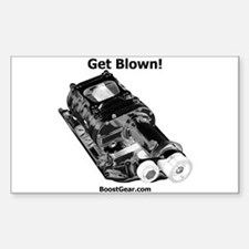Get Blown! - Supercharger - Rectangle Decal