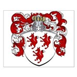 Van Wesel Coat of Arms Small Poster